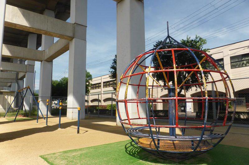 新幹線高架下1号児童遊園