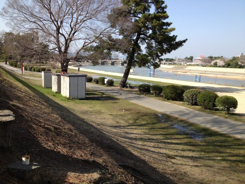 武庫川河川敷緑地