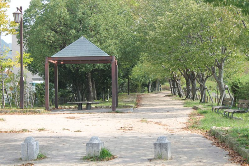 有馬川緑道