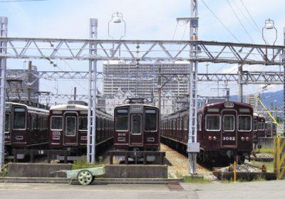 阪急電鉄車庫