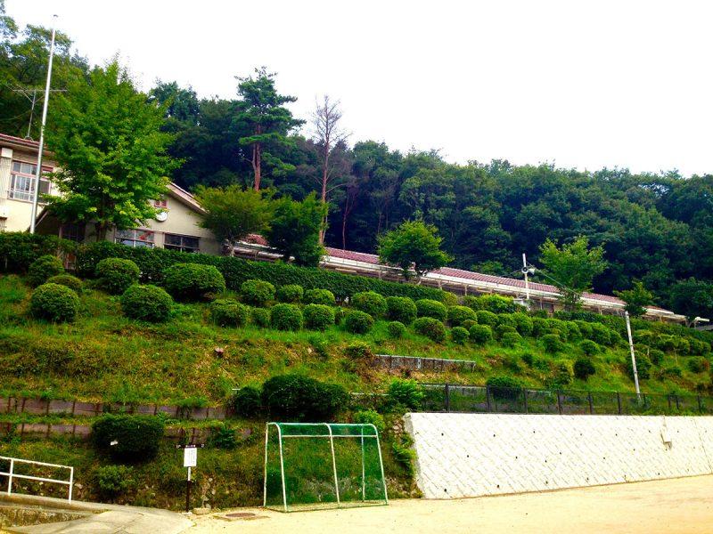 旧船坂小学校跡地(里山学校)