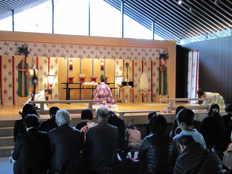 西宮神社 勧学祭 祈祷殿でのご祈祷