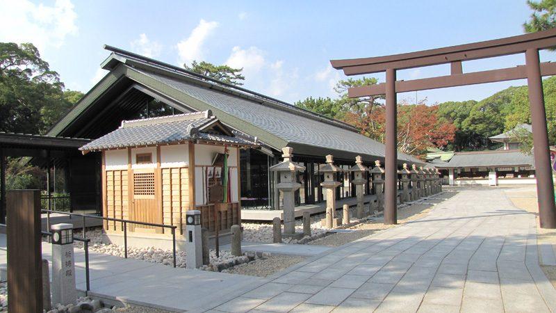 西宮神社 祈祷殿