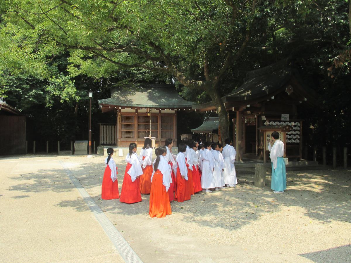 西宮神社夏休み子ども会