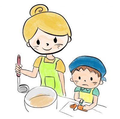 親子で楽しくクッキング~包丁・ピーラーの使い方を学ぼう~